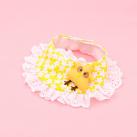 Cute Chick Doll/Rabbit Doll Lace Collar Cotton Bandana
