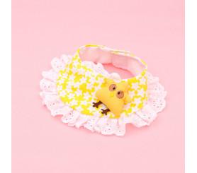 Cute Chick Doll/Rabbit Doll Lace Collar Cotton Bandana