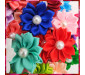 Pet Bow Hairband Petal Pearl Style