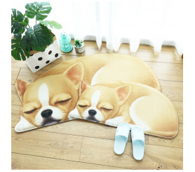 3D Non-slip Animal Pattern Floor Mat