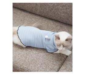 Kitty Summer Dress Fungus Line Cotton ball décor Thin Two Feet Clothes