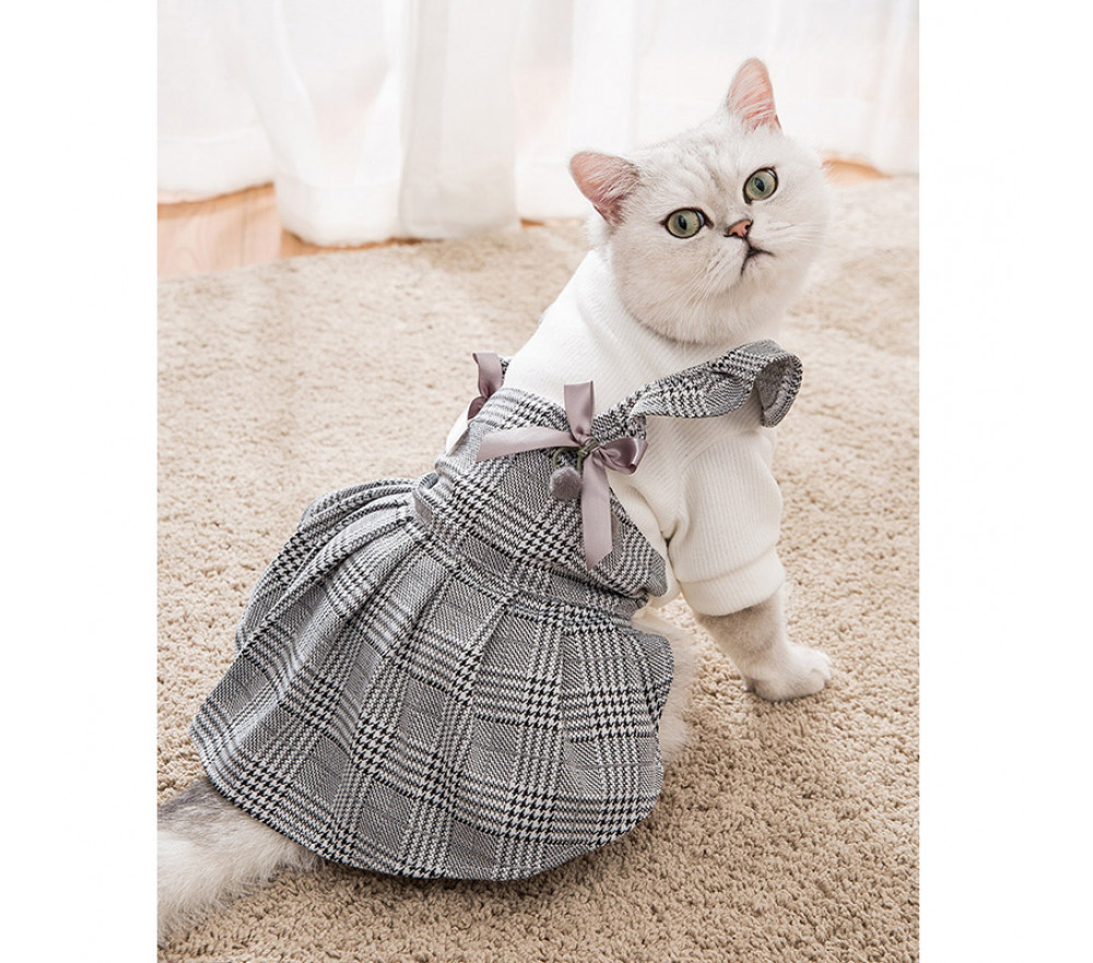 Princessa Cat Skirt Thick Warm Autumn and Winter Cat Clothes Special Sale