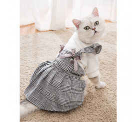 Princessa Cat Skirt Thick Warm Autumn and Winter Cat Clothes