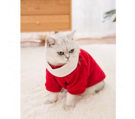 Christmas Clothing Autumn Winter Warm Festive Cat Sweater