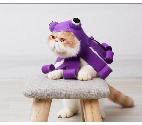 Octopus Design Cat Cosplay Hat Halloween Pet Cat Costume