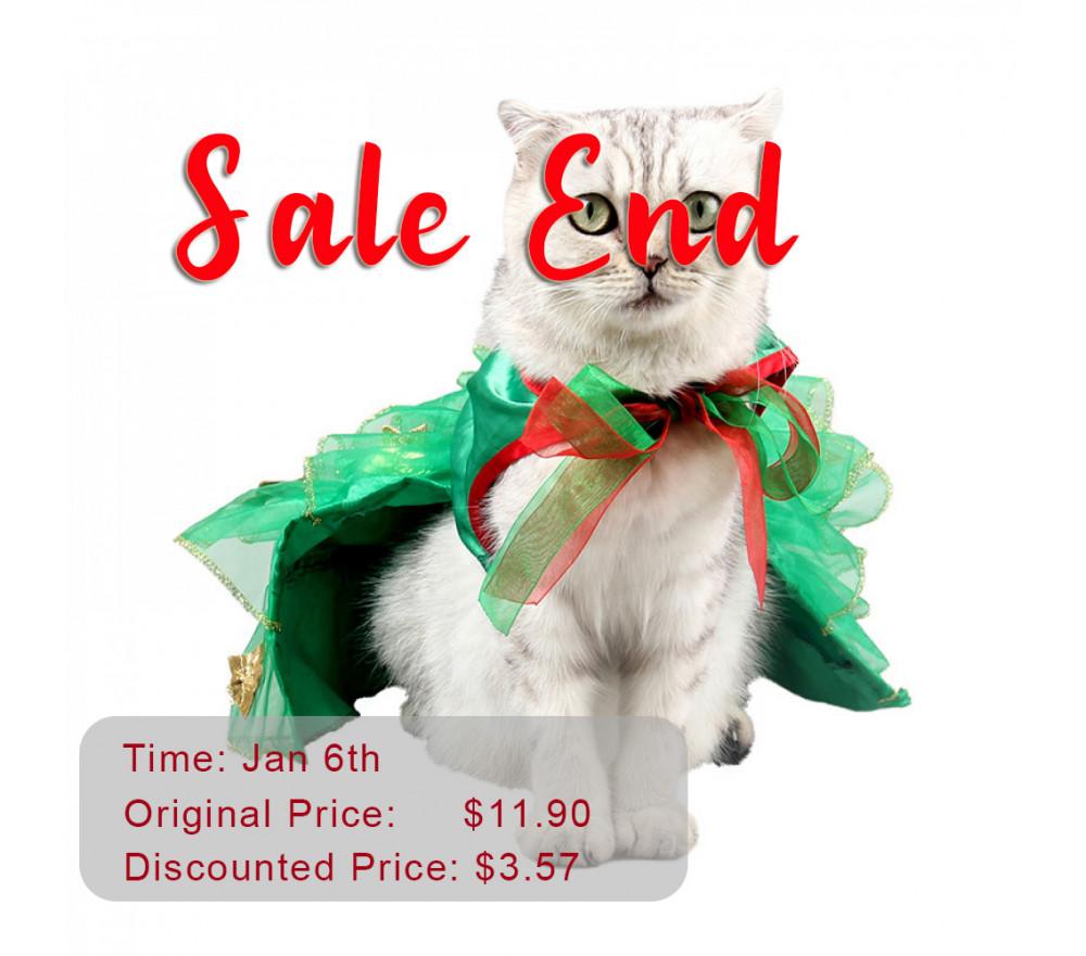 Peacock Cloak Costume Pet Clothing Flash Sale