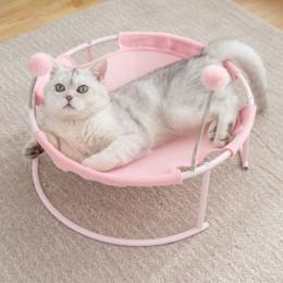Hanging Basket Cat Bed Elevated Cat Hammock Raised Dog Beds