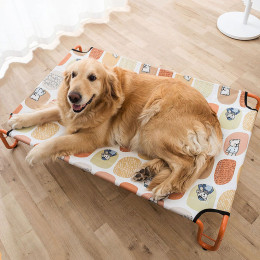 Elevated Pet Bed Portable Raised Cots Dog Beds