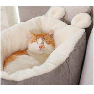 Rabbit Ears Cat Nest Winter Warm Sleep Mattress