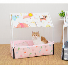 Detachable and Washable Cat House Cat Bed