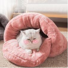 Closed Detachable Cat Nest Warm Winter Bed
