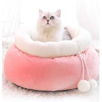 Pink Money Bag Cat Nest Deep Sleep Cat Bed