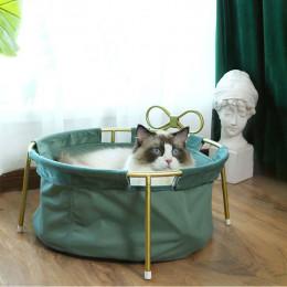 Retro Detachable Metal Frame Cat Nest