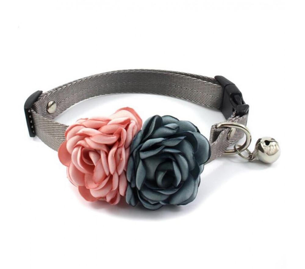 Elegant Handmade Flower Collar