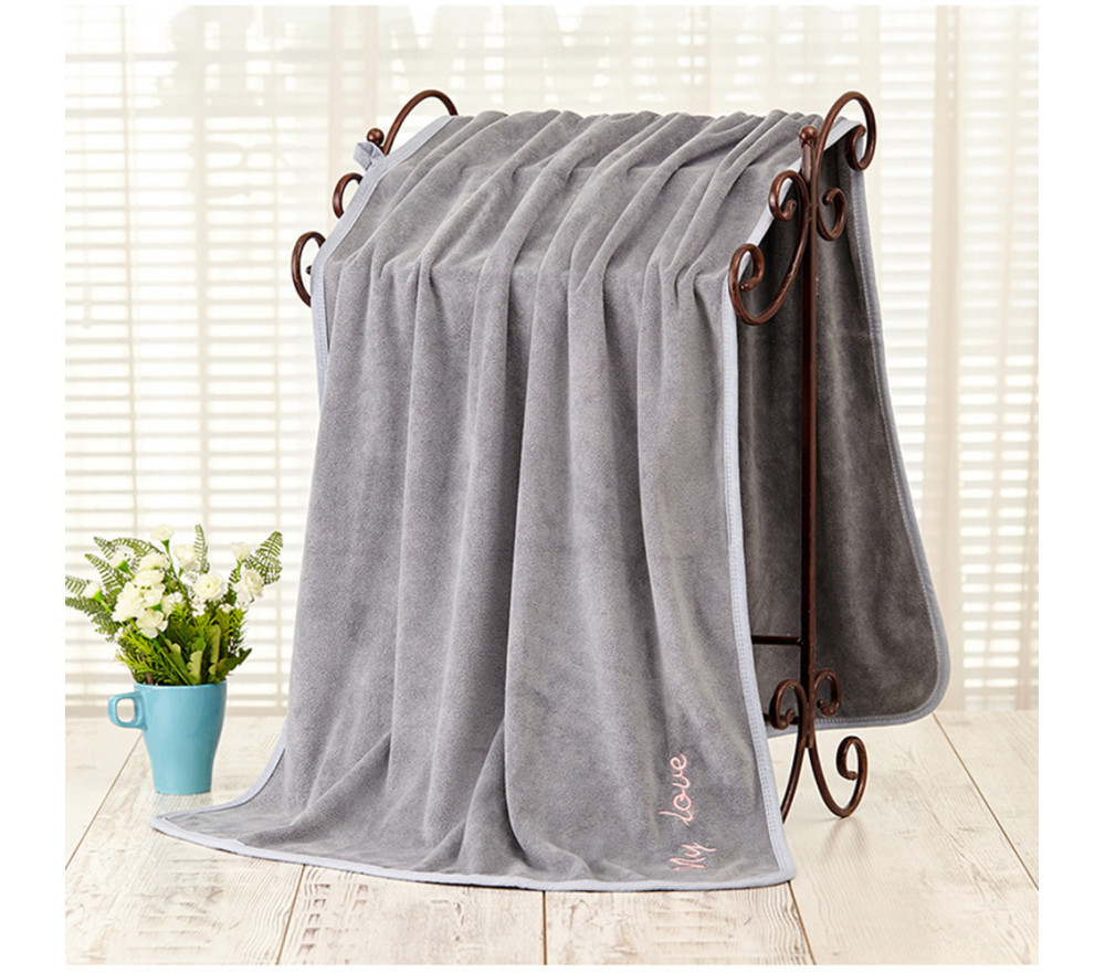 Super Absorbent Microfiber Pet Bath Towel Quick-drying No lint