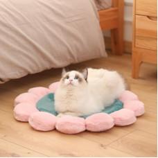 Round Flower Pet Mat Princess Plush Mat Special Sale