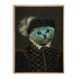 Count Design Royal Pet Portraits Custom Dog Portrait Painting