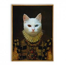 Renaissance Era Custom Pet Portraits Dog Painting Canvas