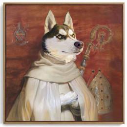 Noble Custom Dog Portraits Renaissance Pet Portraits