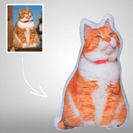 Custom Pet Pillow Personalized Dog/Cat Photo Shaped Pillows