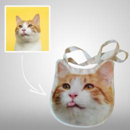 Personalized Pet Tote Bag Custom Canvas Tote Bag