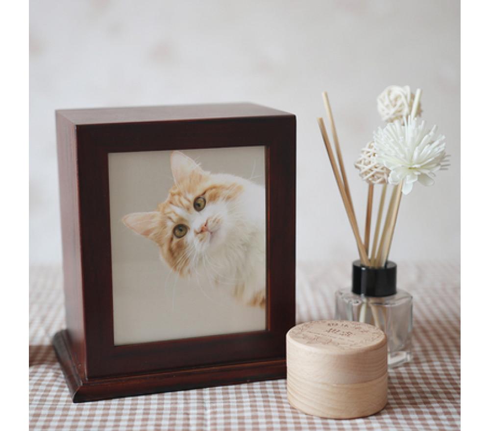 Custom Pet Urn Photo Memorial Box