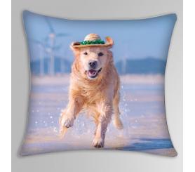 Custom Pet Portrait Pillow Printed Personalized Dog/Cat Pillow