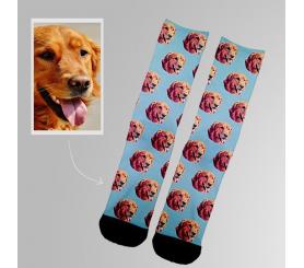 Custom Dog Socks Pet Face Printed Cotton Socks