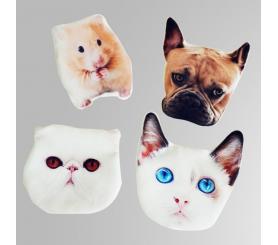 Cute & Small Custom Pet Coin Purse Animal Shaped Purse