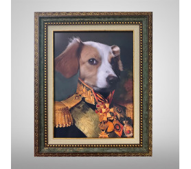 Custom Royal Pet Portraits Personalized Cat & Dog Portrait Painting Canvas