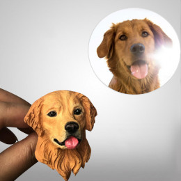 Pet Photo Personalized Car Scent Diffuser Custom Mini Fan Air Fresheners
