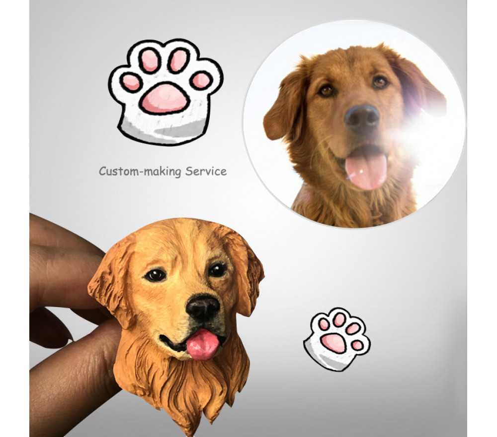 Custom Pet Portraits Car Air Freshener Personlised Gifts for Pet Lovers