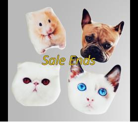 Customized Pet Coin Purse Key Case Flash Sale
