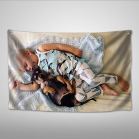 Custom Tapestry Personalized Pet Photo Blankets Memorial Gift