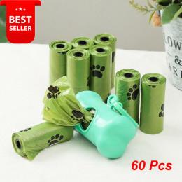 Biodegradable Dog Poop Bags Compostable Dog Waste Bag Bulk 60Pcs