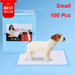 Disposable Dog Pee Pads Indoor Pet Training Diaper Pad for Crate Balcony 100Pcs