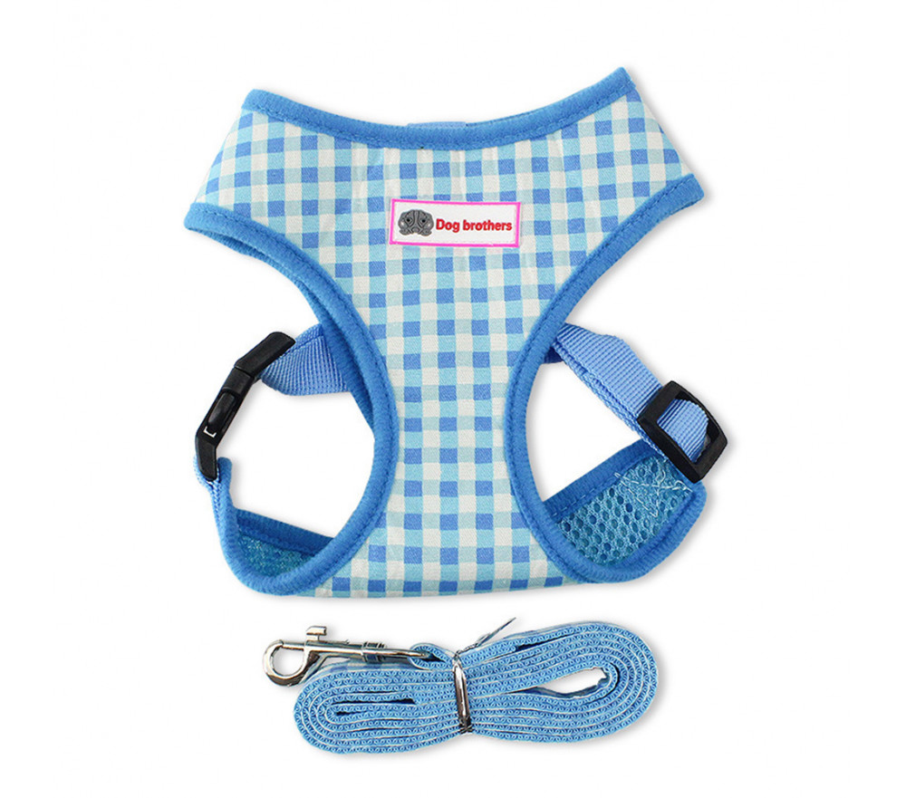 Small Dog Harness Leash Reflective