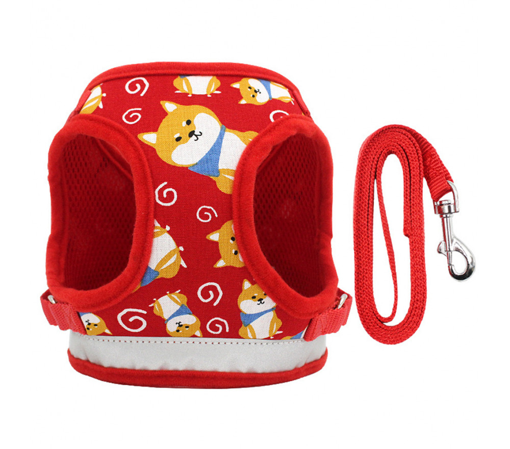 Reflective Harness Vest for Small Dogs