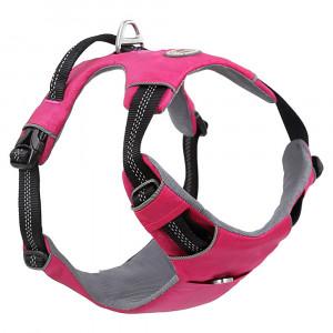 Reflective Nylon Dog Harness with Handle No Pull