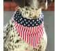 American Flag Dog Bandana Collar Cute Puppy Bandana
