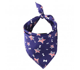 US Dog Bandana American Flag Dog Bandanas for Dogs