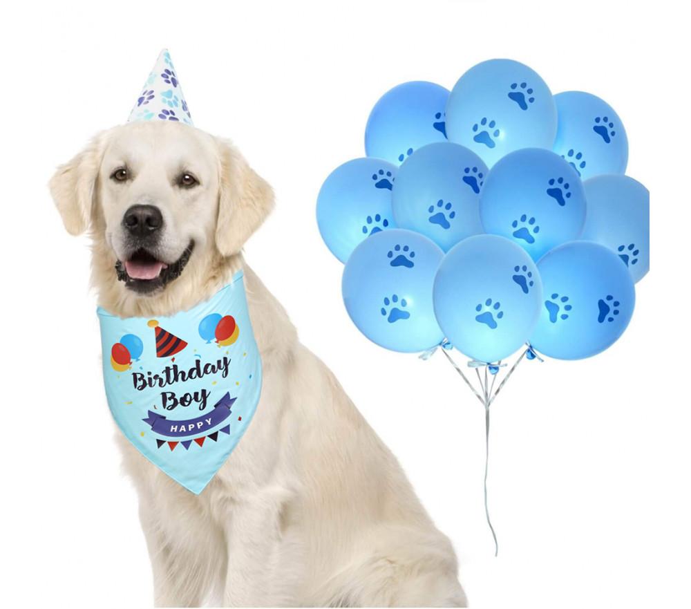 Dog Birthday Bandana Collar Cute Dog Bandanas