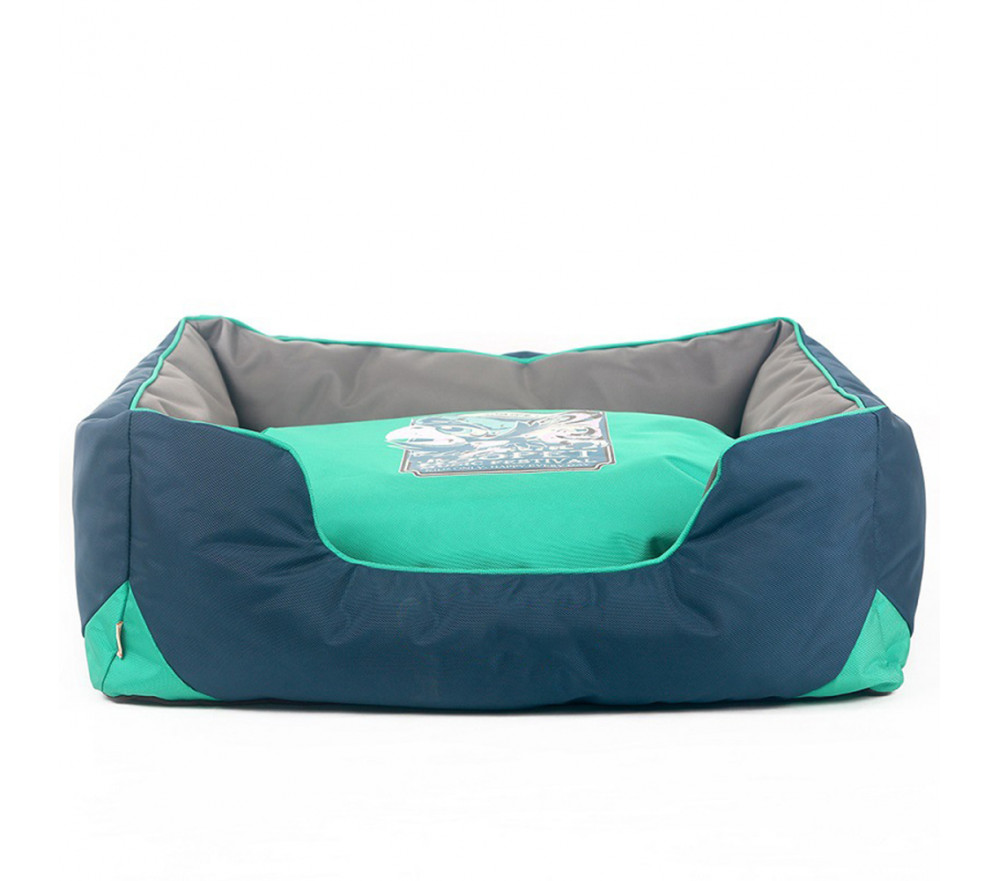 Bolster Dog Bed with Removable Cover