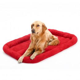Short Plush Dog Mats for Crates Dog Bed Pad Washable