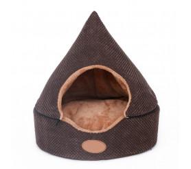Hooded Dog Bed Chocolate Shape Dog Bolster