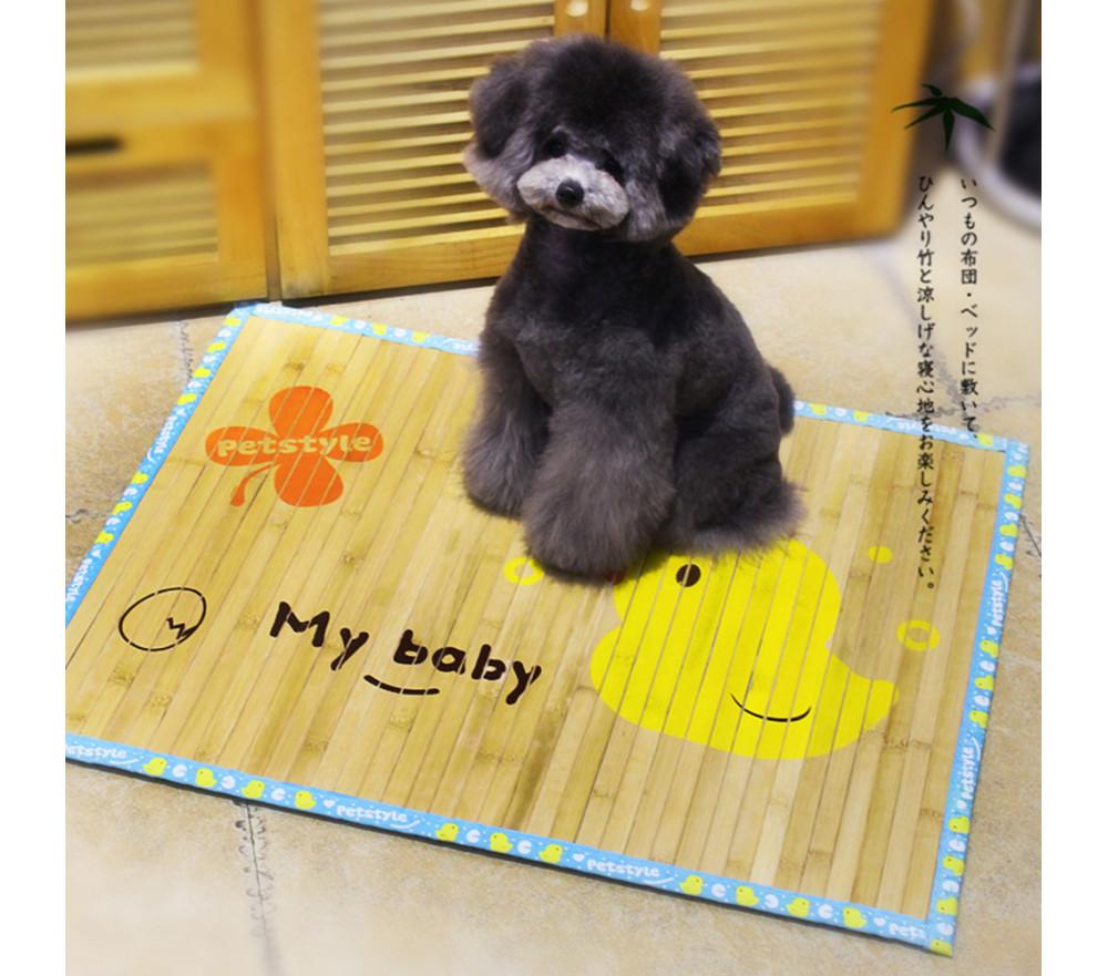 Dog Cooling Mat Bamboo Crate Pads