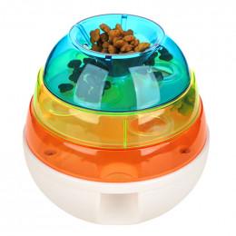 Cat Dog Slow Feed Bowl Slow Eating Puzzle Feeder Toy