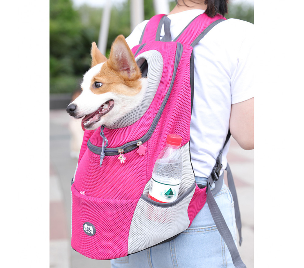 Small Dog Carrier Mesh Backpack