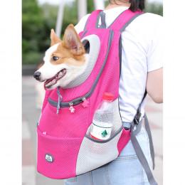 Mesh Dog Carrier Backpack Small Medium Dog Travel Bags