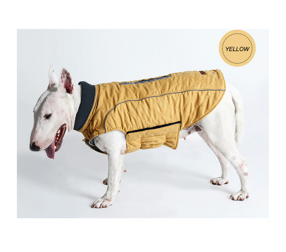 Dog Jacket Winter Clothes Vest Coat Harness Hole